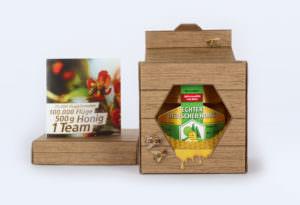Mainteam Honigverpackung mit Inlay