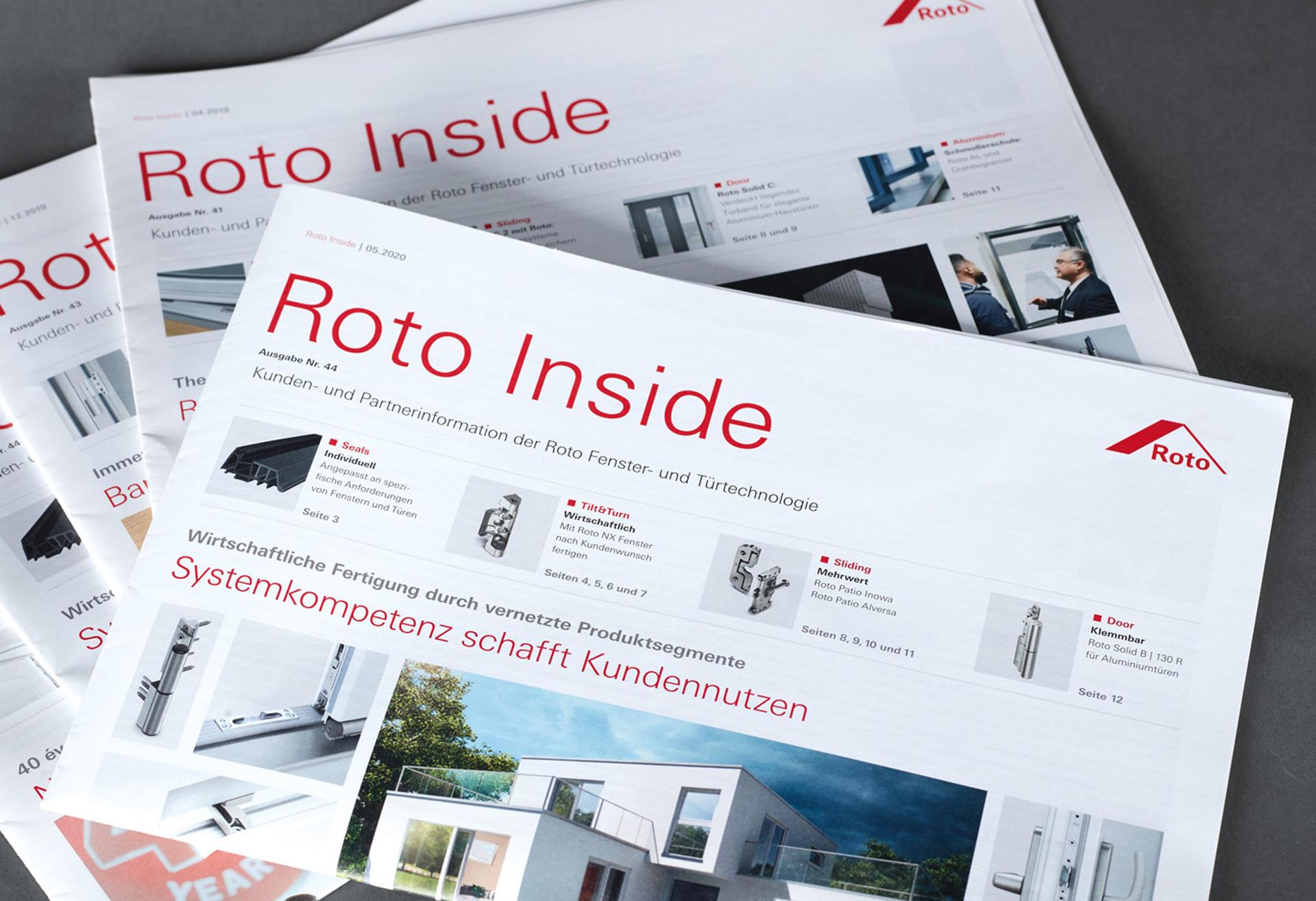 "Kundenzeitung ""Roto Inside"""